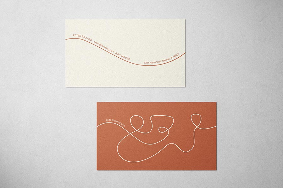 The String Business Card