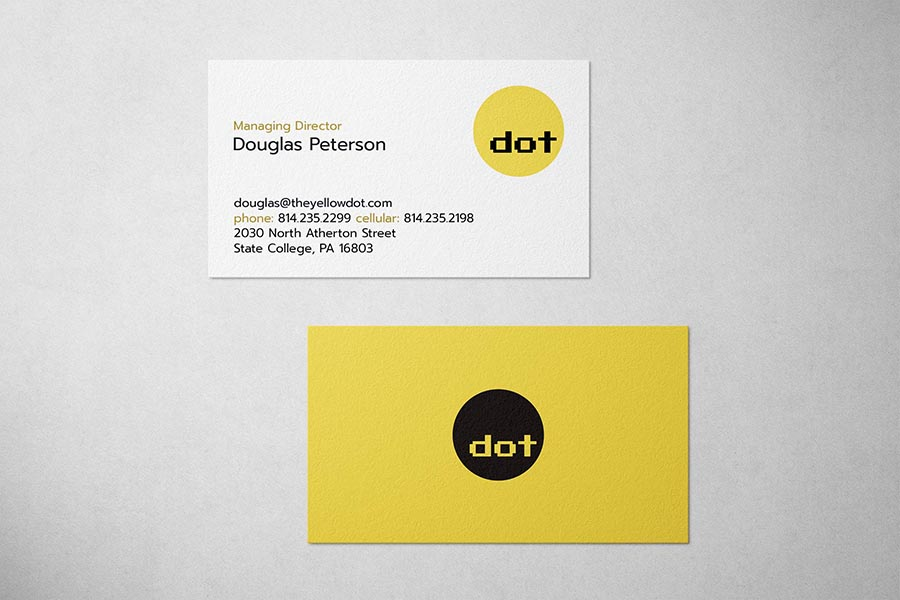 Dot Communications Business Card