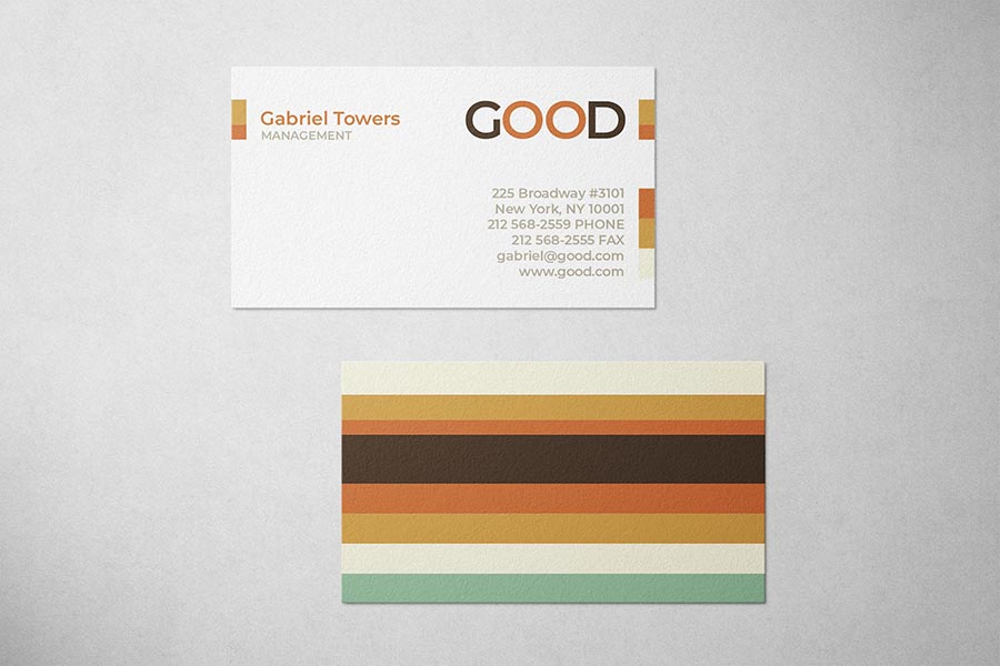 Good Management Business Card