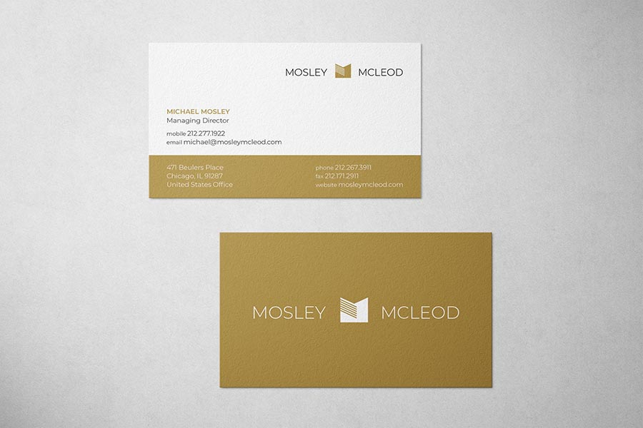 Mosley McLeod Law Business Card