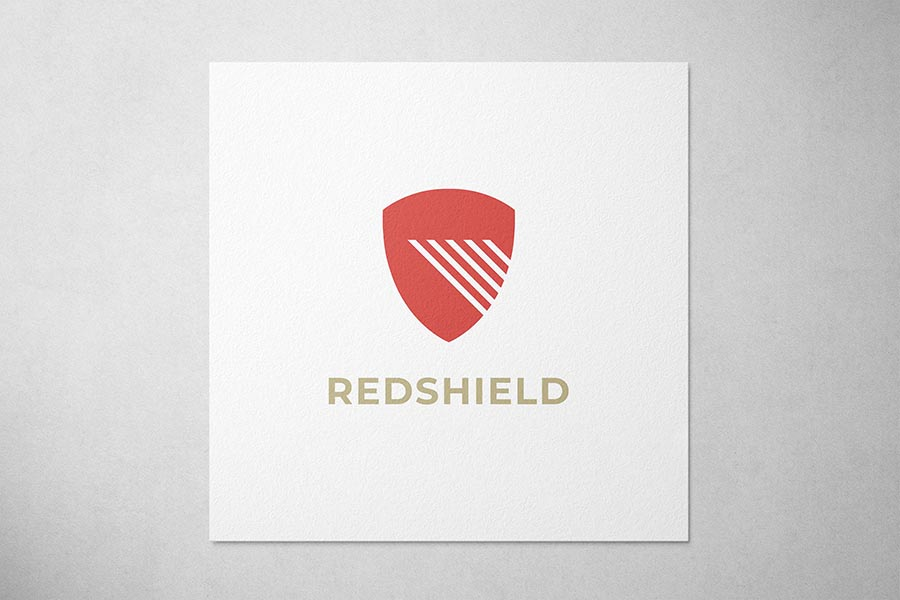 Red Shield Security Logo Preview