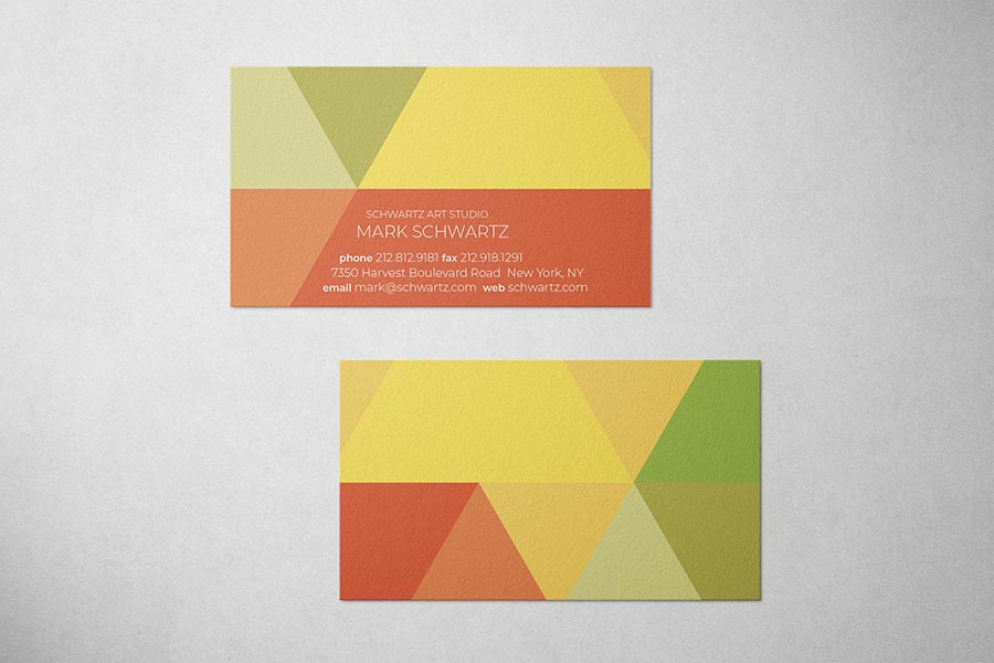 Schwartz Art Studio Business Card