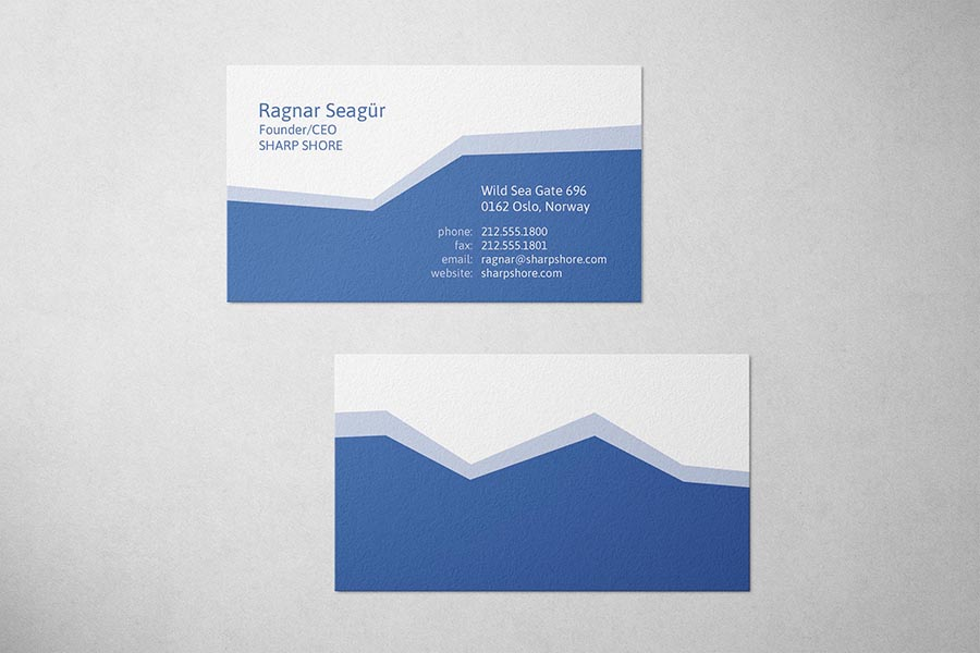 Sharp Shore Business Card