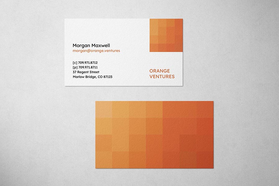 Orange Ventures Business Card