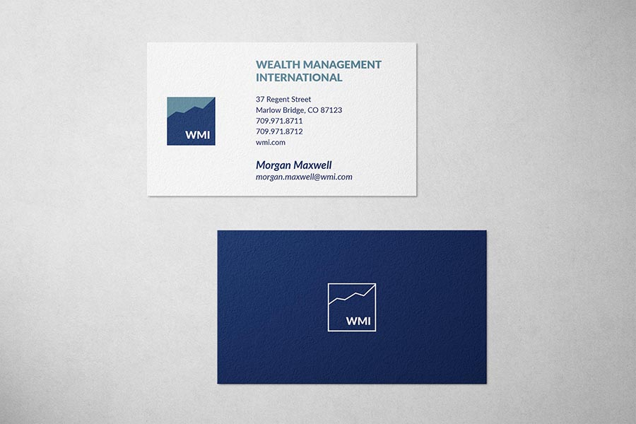 Wealth Management Business Card